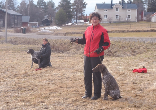 Viveka Grahn och Irene Nilsson är i träningstagen!