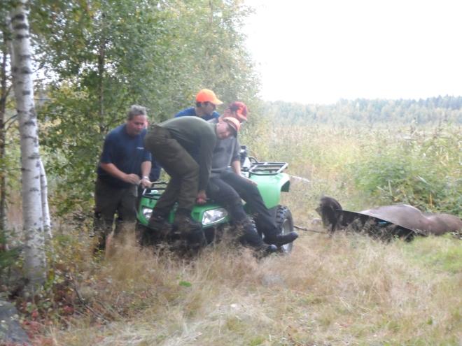 Alla sätt är bra utom de dåliga när det gäller att få jämvikt på fyrhjulingen i terrängen.