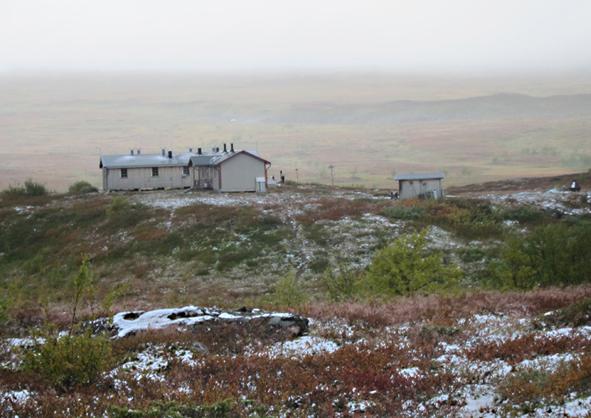 Så här ser det ut vid Aigertstugan. Fått tillstånd att låna bilden från http://jagharettparadis.wordpress.com